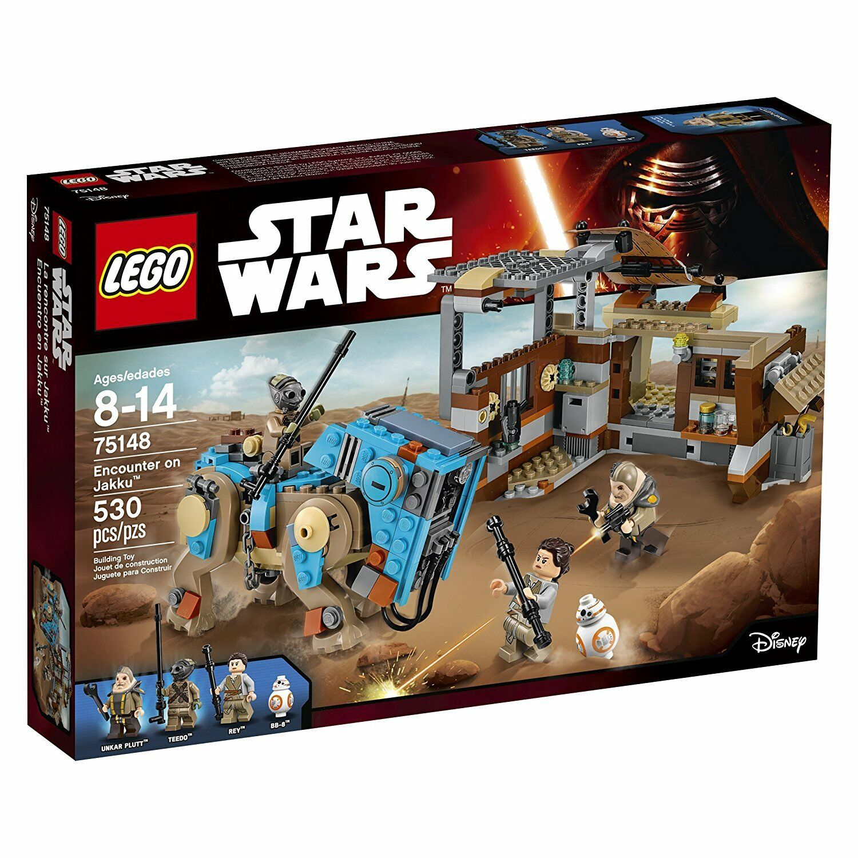 LEGO Star Wars Wars Wars Encounter on Jakku Building Play Set 75148 NEW NIB 162b03