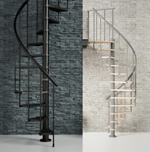 Image Is Loading Deluxe Spiral Staircase Loft Kit 1200mm Amp 1400mm