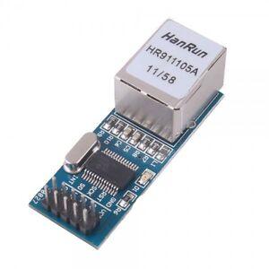 Modulo-scheda-shield-ethernet-ENC28J60-HANRUN-HR911105A-lan-arduino-compatibile