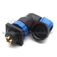 Sd20 5pin Aviation Connectorip68 Waterproof Electric Bulkhead Motor Charge Plug