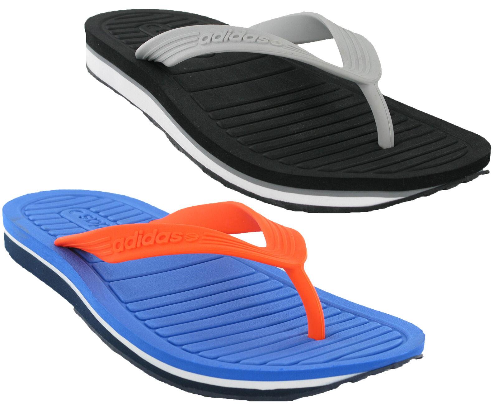 Adidas V Flip Flop Mens Thong Sandals Toepost Slide Pool Summer Beach Holiday