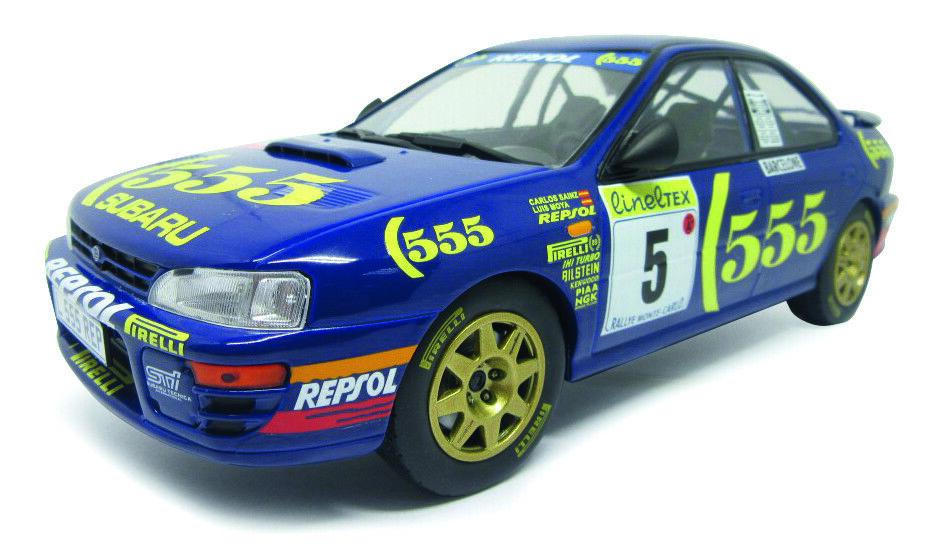 1 ST, Auto Subaru Impreza, Monte Carlo 1995, solido 00428, OVP