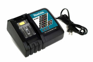 GENUINE Makita DC18RC 18V Rapid Battery Charger 18 Volt  BL1830B BL1840B BL1850B