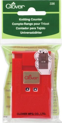 """Clover Deluxe Knitting Counter Kacha-Kacha 1-1//2/"""" X 2-1//2/"""" CL336"""