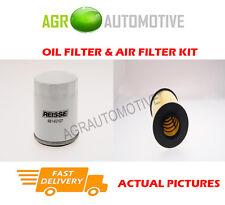 BIO PETROL SERVICE KIT OIL AIR FILTER FOR FORD FOCUS 1.8 125 BHP 2005-12