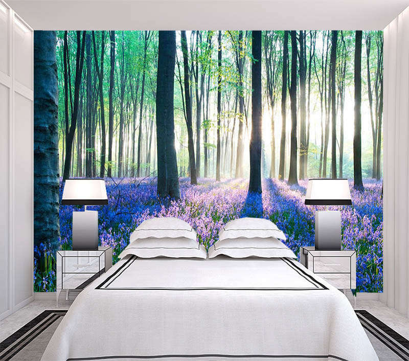 Twilight Grove 3D Full Wall Mural Photo Wallpaper Printing Home Kids Decoration