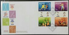 Malaysia 1997 Commonwealth Games 4th Issue, 4v Stamps FDC (Lot D)
