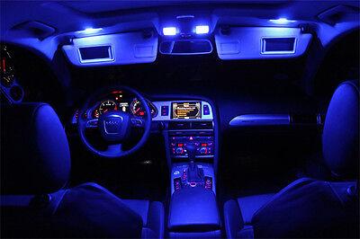 SMD LED Innenraumbeleuchtung Audi A4 B5 S4 Avant 7-LEDs Xenon blau