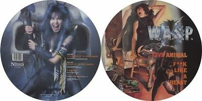 MINT! WASP - LIVE ANIMAL (F**K LIKE A BEAST) VINYL PICTURE DISC MFN P 12 KUT 109
