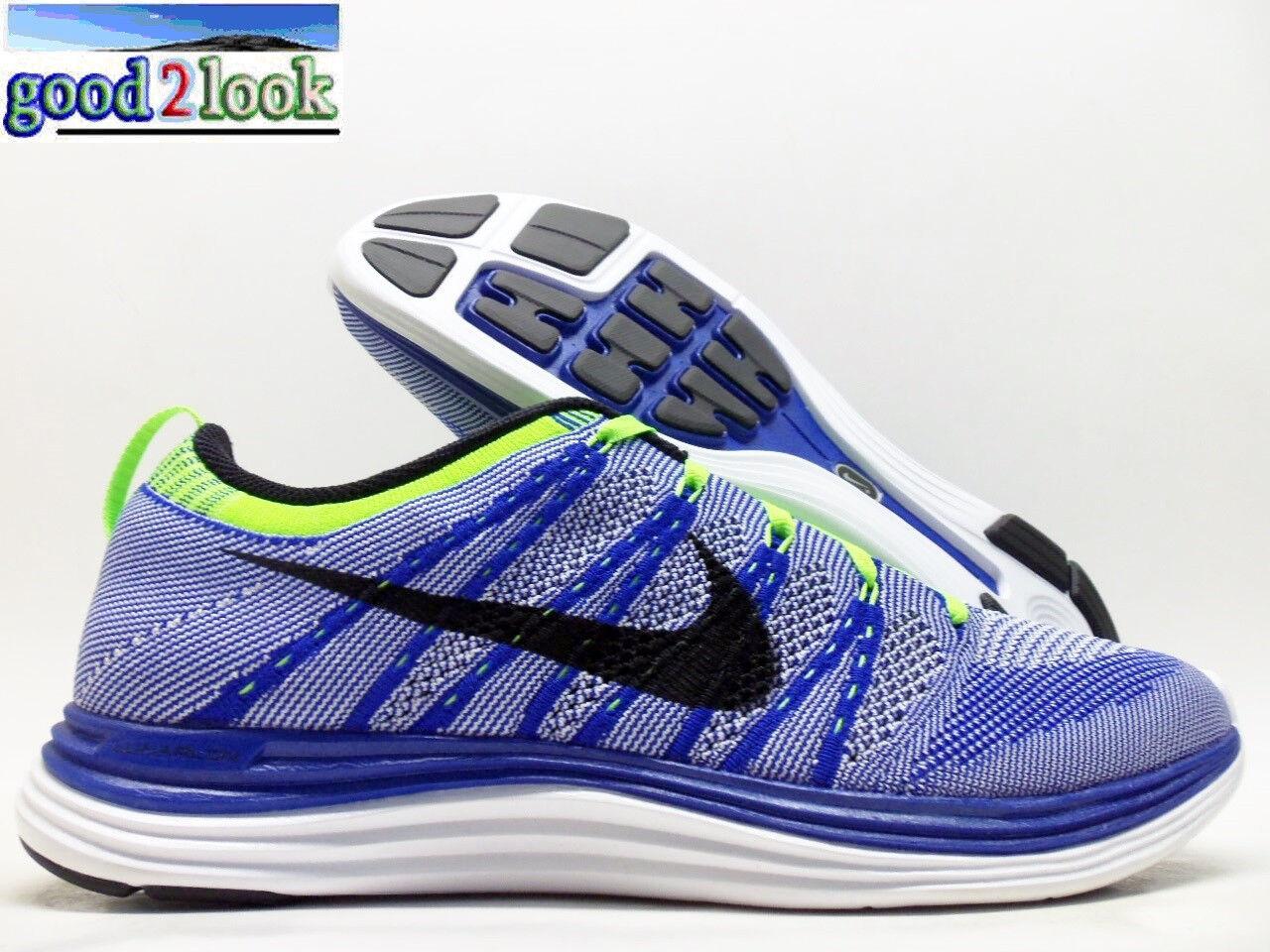 Nike flyknit uno + nero-white trainer gioco royal / nero-white + dimensioni uomini 10,5 - 554887-401] 0709d5