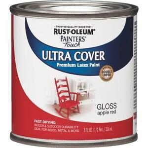 Image Is Loading Rustoleum Le Red Latex Paint