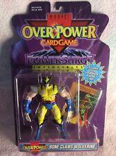 Marvel Figuras de juego de tarjeta de superpotencia hueso Garras Wolverine Battle Damaged
