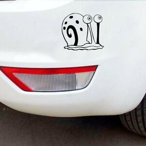 2pcs Awkward Snail Car Stickers Truck Laptop Window Bumper Motorcycle Wall Decal