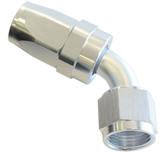Aeroflow -6AN Taper Series 60 Degree Hose End Silver AF118-06S