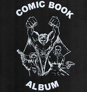 4 Premium BCW Comic Book 3 Inch Collector Album 3 D Ring Binder 80 Comic Storage