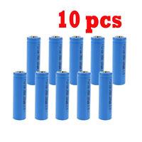 10x 14500 3.7v 1200mah Brc Lithium Rechargeable Li-ion Battery For Flashlight Wa