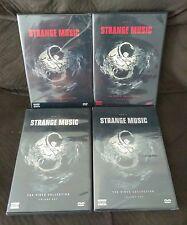 Strange Music DVD LOT VOLUME 1,2,5,6