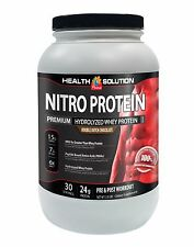 Whey Protein Weight Gain - NITRO PROTEIN CHOCOLATE - Strong Muscles 1C