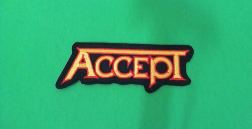 Accept Iron On Patch New German Metal Helloween Scorpions Metallica