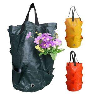3 Gallon PE fabric Strawberry Planter grow Bag Plant pots Garden wall Hanging