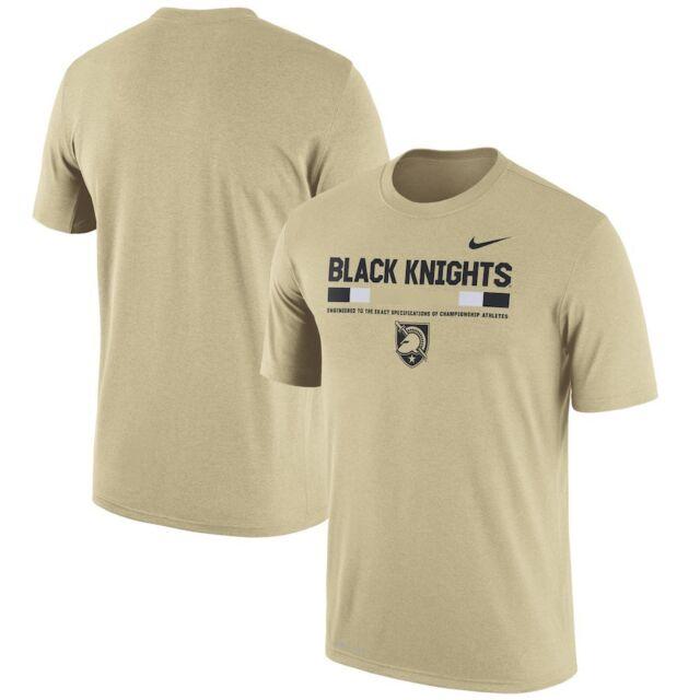 d3819d842 Army Black Knights Nike Gold 2017 Staff Legend Performance T-Shirt Men s XL