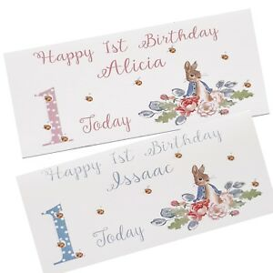1st Birthday Card Gift Money Wallet Any Name Handmade Inc