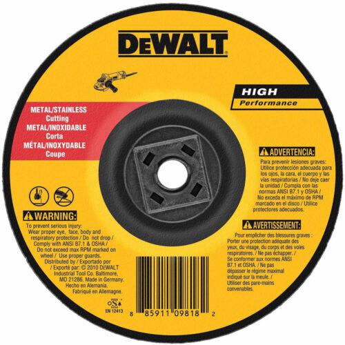 """DeWalt DW8424H 4-1//2/"""" x .045/"""" x 5//8/""""-11 Metal Cutting Wheel"""