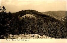 Orsi roccia nel Erzgebirge vecchia DDR cartolina 1964 affacci sul Schiesser Hang in estate