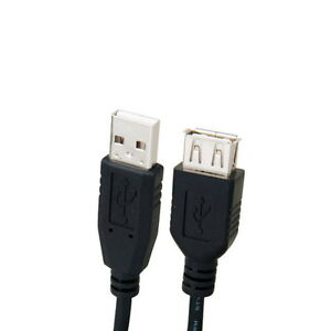 6ft 6 FEET USB 2.0 A Male to A Female Extension Extender Cable Cord Connector 692752765940