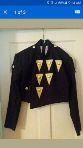 Marching Band Uniform lot black gold