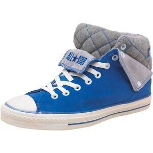 4746f3ec2cbe Converse Mens CT All Star Peel Back Mid Suede DAZZLING BLUE 136426C ...
