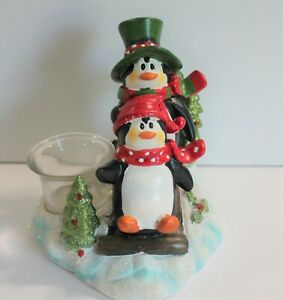 Penguins-on-Sled-Christmas-Candle-Tealight-Holder