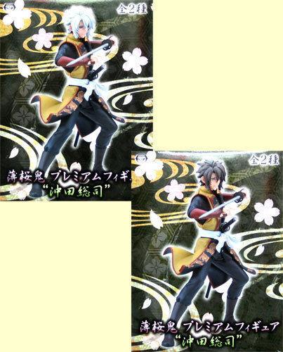 Japan Sega PM Figure Hakuoki Hakuouki Shinsengumi Kitan Okita Souji & Rasetsu