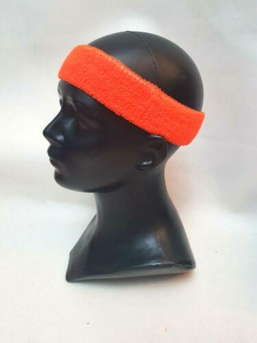 HEADBAND Hair Band NEON BRIGHT COLOUR DANCE Disco 80/'s  x 1 Hair Head Wrap