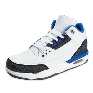 Men-039-s-High-Top-Basketball-Shoes-Athletic-Training-Sneakers-Sports-Breathab