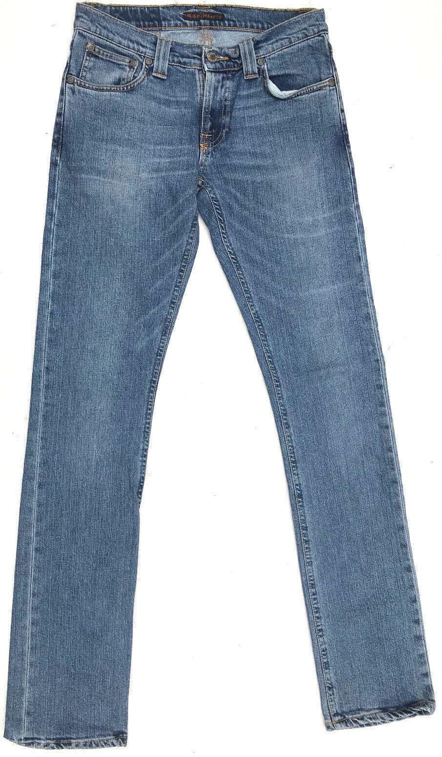 Nudie Jeans 'SLIM KIM INDIGO STRETCH'  W28 L34 AU10 US6 EUC RRP  Womens