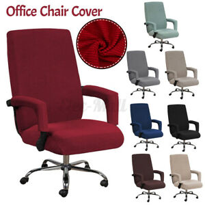 Swivel-Computer-Chair-Cover-Stretch-2X-Armrest-Covers-Armchair-Slipcover-Seat