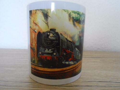 Motiv 01 005 Tasse mit Eisenbahn