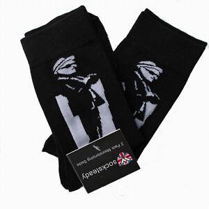 Warrior UK England Ska 2-Tone Socks 2 Pairs Doppelpack Socken Skinhead Oi Mod