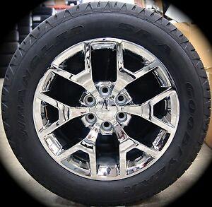 "NEW 2015 GMC Yukon XL Sierra Denali Chrome 20"" Wheels Rims ..."