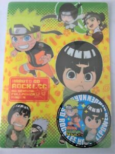 Set of 3 Naruto Anime Acrylic Keychain Tenten Hyuuga Neji Rock Lee