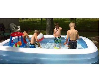 Inflatable Swimming Pool Floaties for Kids Kiddie Adult Family Swim Water Play