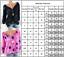 Women-Plus-Size-Polka-Dot-Casual-Blouse-T-Shirt-Long-Sleeve-V-Neck-Tunic-Tee-Top thumbnail 3