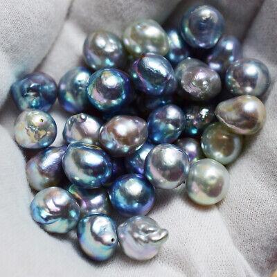 Huge 10-11mmUP Baroque Akoya Pearl Natural Blue From Japan Wholesale Loose  1pc | eBay
