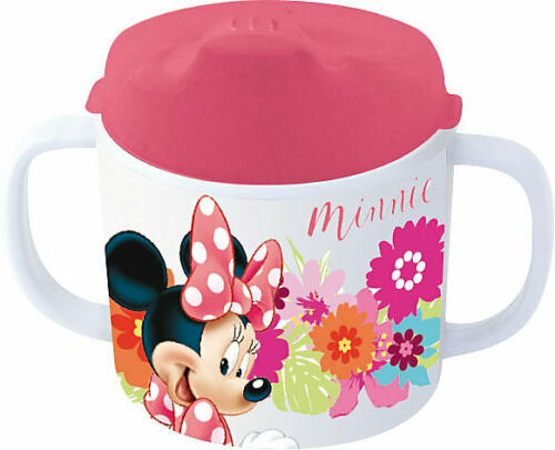 Neu P:OS Trinklernbecher Melamin Minnie Mouse 200 ml 6073500 rosa