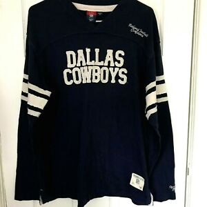 Dallas-Cowboys-Gridiron-Classics-NFL-Reebok-Long-Sleeve-Shirt