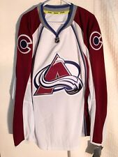 Reebok Authentic NHL Jersey Colorado Avalanche Team White sz 52