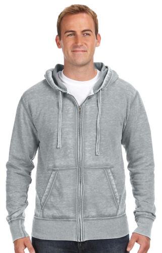 JA8916 J America Men/'s Front Pouch Pocket Full Zip Winter Fleece Hoodie