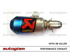 Multi Color Racing Exhaust Silencer With out DB Killer For all Bikes
