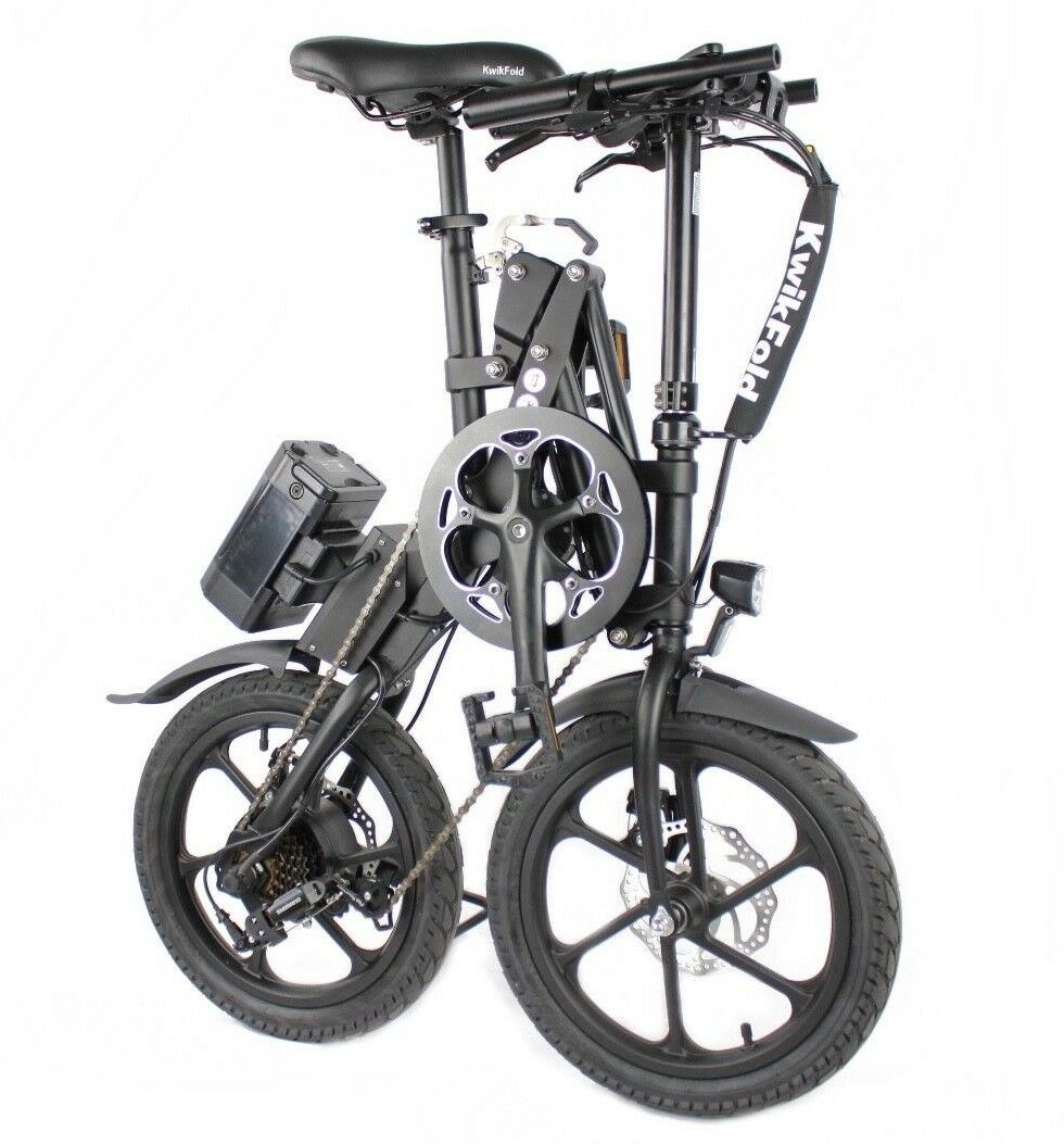 Kwikfold Xite-3 Folding Electric Bike ebike with Battery
